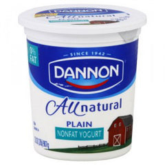 DANNON LIGHT & FIT VANILLA YOGURT