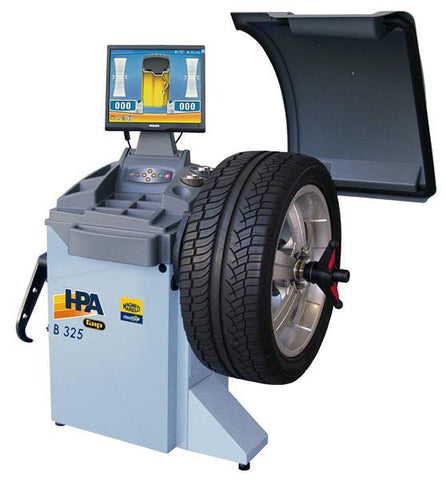 Microprocessor Lcd Balancer, Automatic Start, Automatic Position Searching, Wheel Guard Included. 40Mm Ø