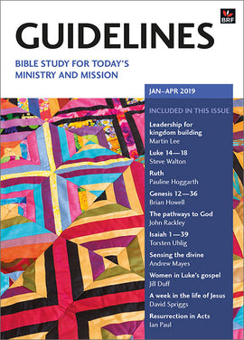 Guidelines January-April 2019: Bible study for today's ministry and mission