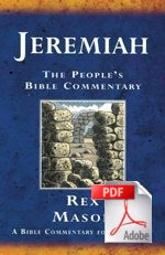 The People's Bible Commentary - Jeremiah: A Bible commentary for every day