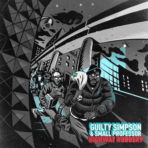 Guilty Simpson And Small Professor - Highway Robbery LP
