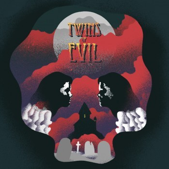Harry Robinson - Twins Of Evil (Original Motion Picture Soundtrack) LP (Transparent Red Vinyl)