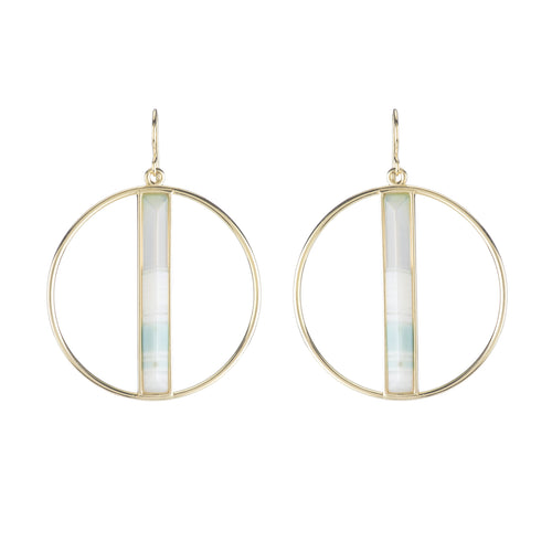 Radia Circle Earrings