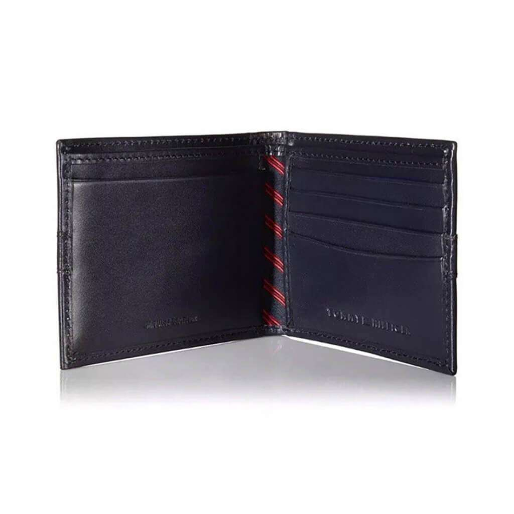 Tommy Hilfiger Men's Bifold Wallet Black Accessories Umisfashion Store