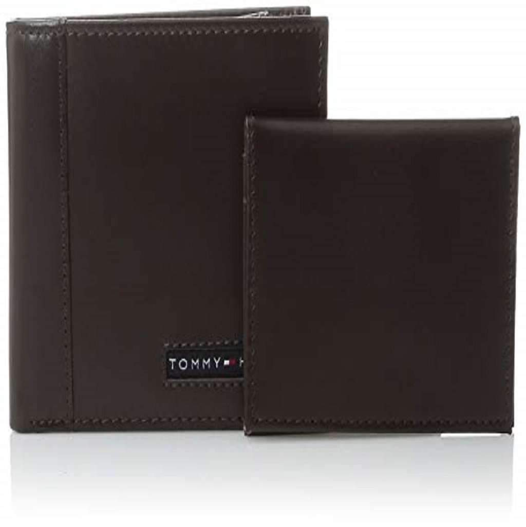 Tommy Hilfiger Men's Thin Sleek Casual Bifold Wallet Accessories Umisfashion Store