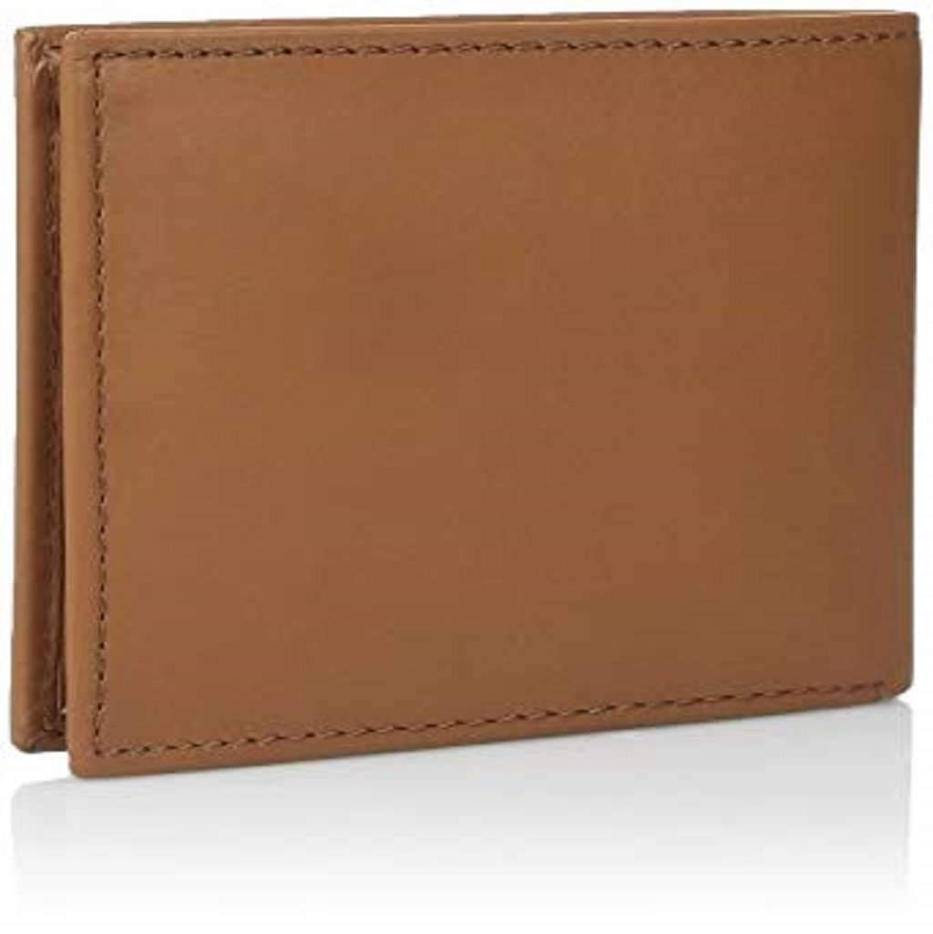 Tommy Hilfiger Men's British Tan Casual Bifold Wallet Accessories Umisfashion Store