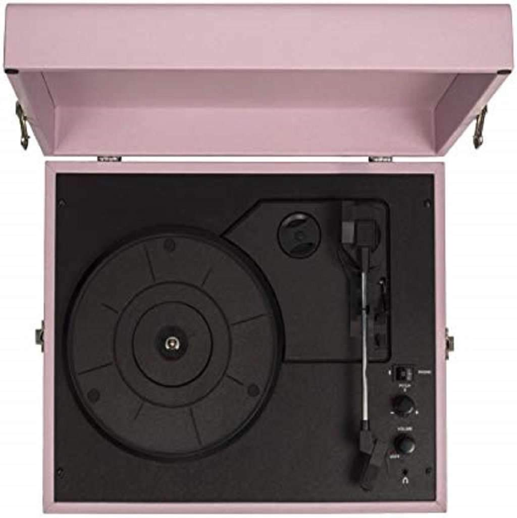 Crosley CR8017A-AM Voyager Vintage Portable Turntable Home & Living Umisfashion Store