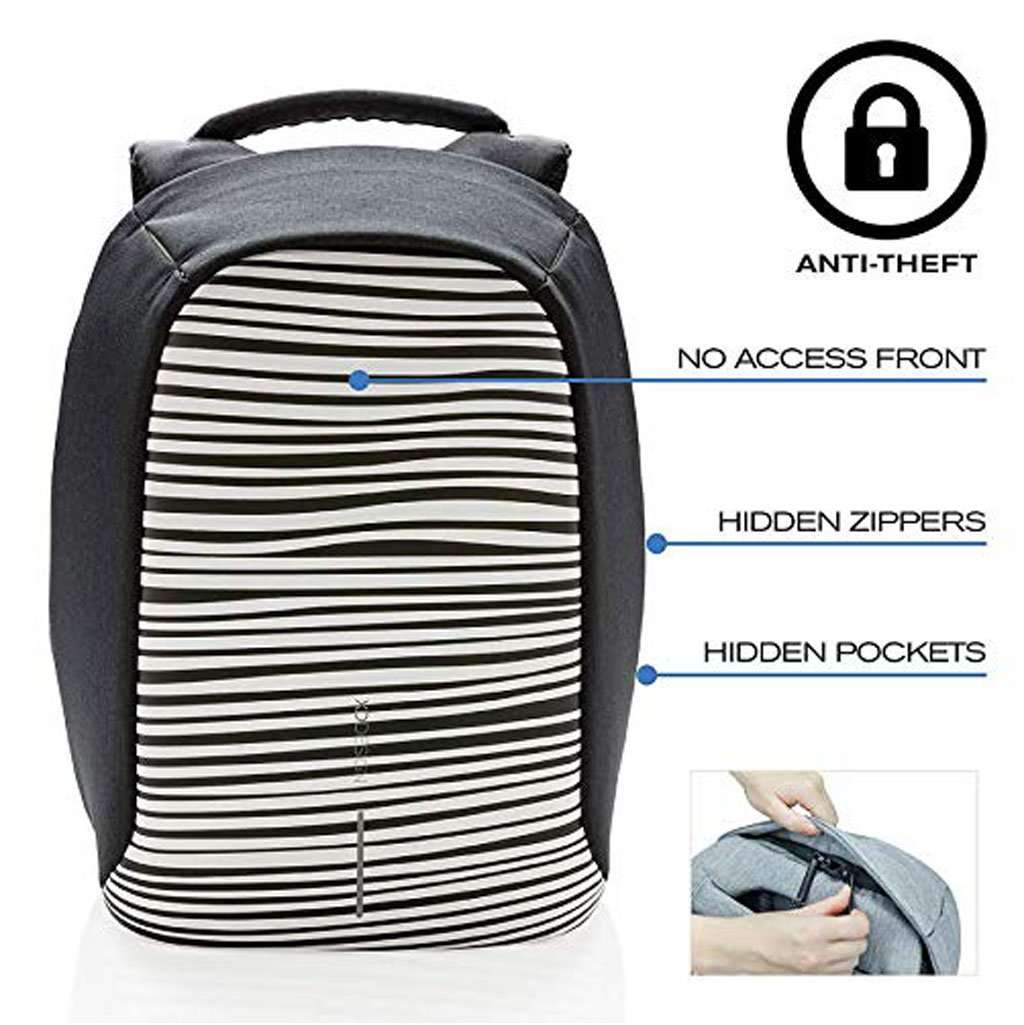 XD Design Bobby Compact Print Anti-Theft Laptop Backpack Accessories Umisfashion Store