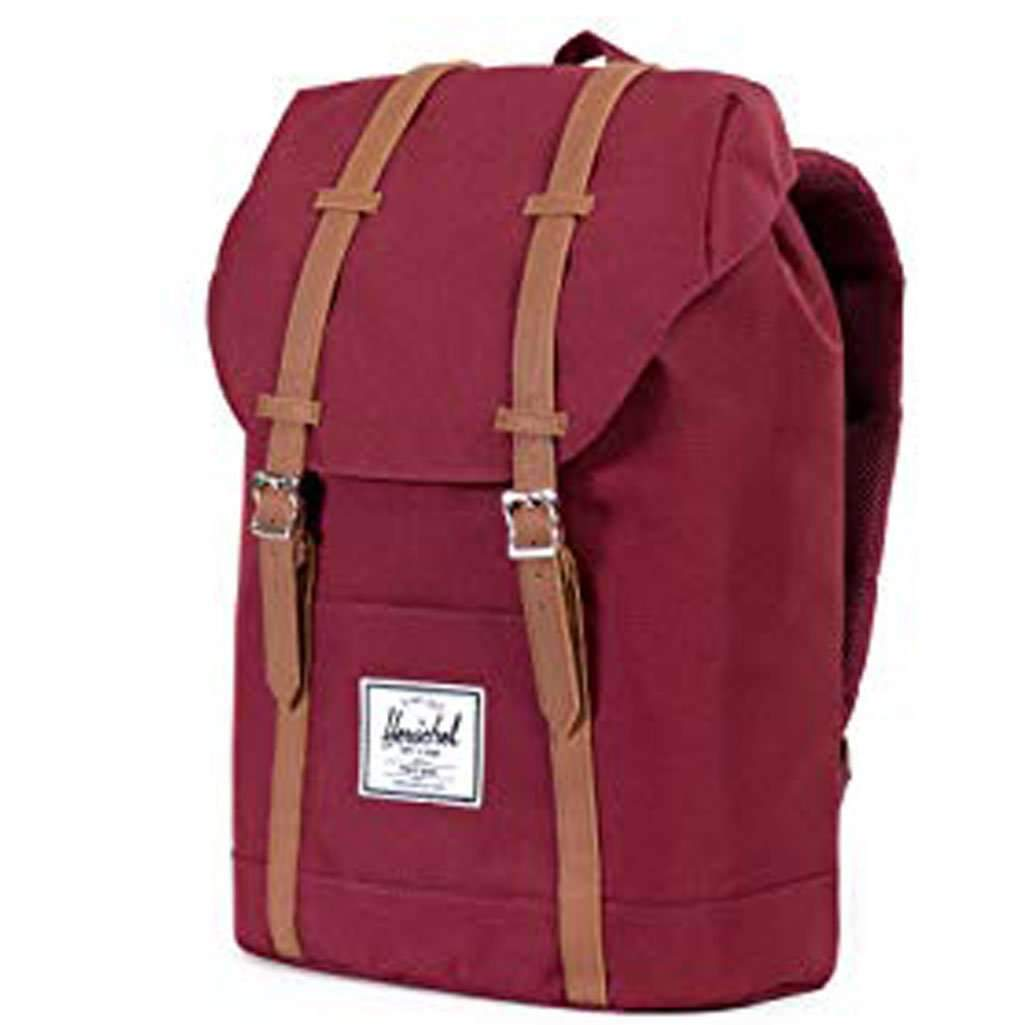 Herschel Retreat Backpack - Windsor Wine Leather Umisfashion Store