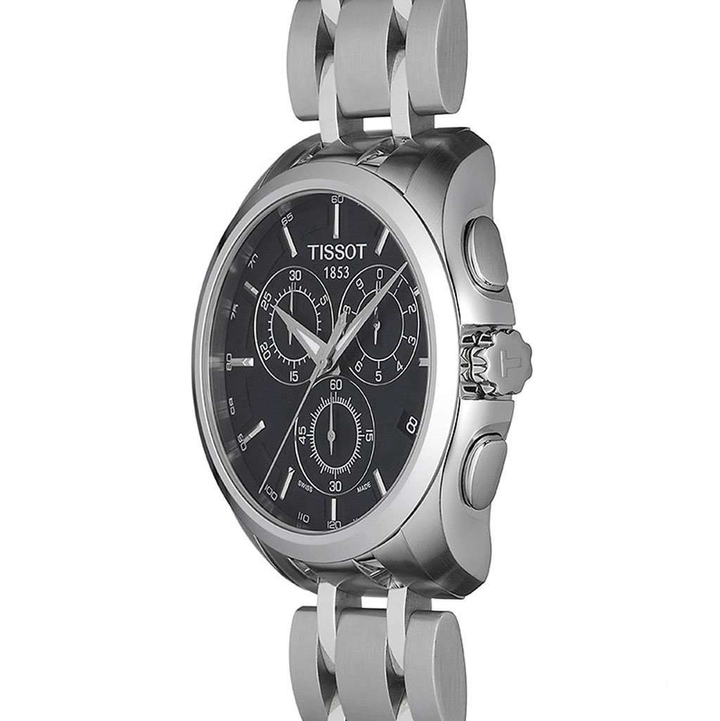 Tissot Couturier T035.617.11.051.00 Chronograph Watch Steel Umisfashion Store