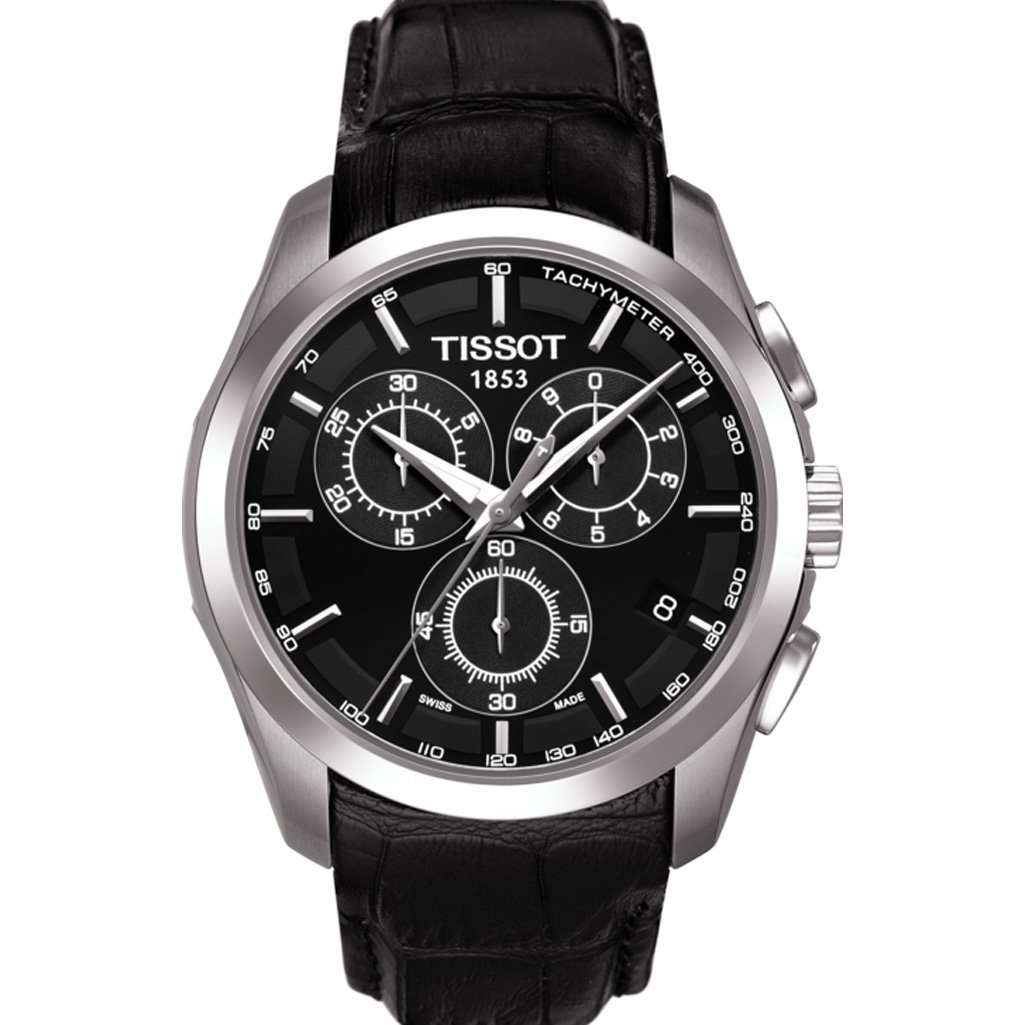 Tissot T035.617.16.051.00 Men's Couturier Watch Steel Umisfashion Store