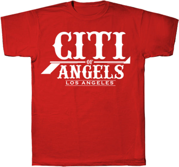 Citi Of Angels Logo Tee Red