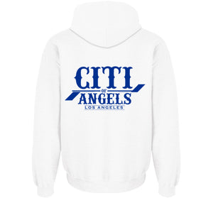 Citi Of Angels Pullover White W/ Royal