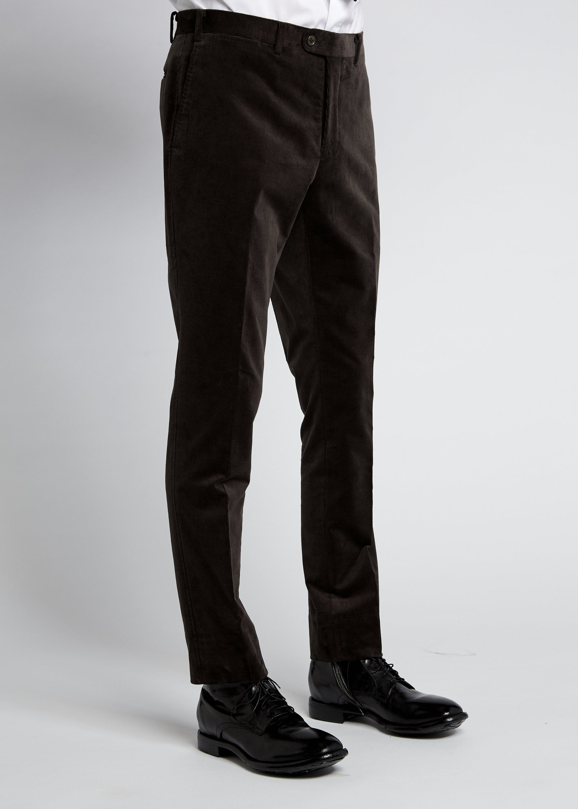 Xander Trouser - Brown Cord