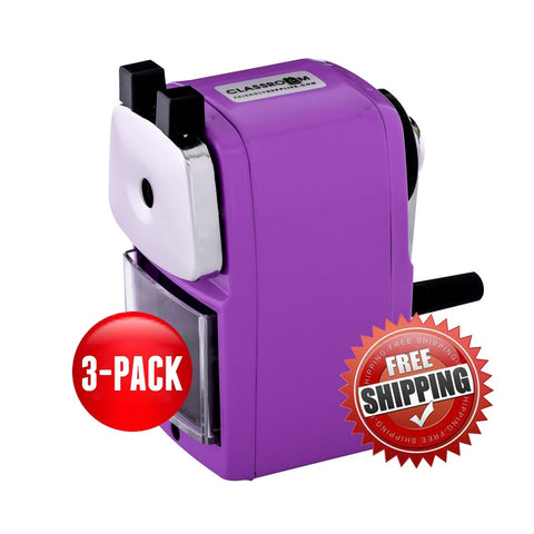 Teacher Special 3 Purple (Buy 3 for only $17.99 each) - Classroom Friendly Supplies  - 1
