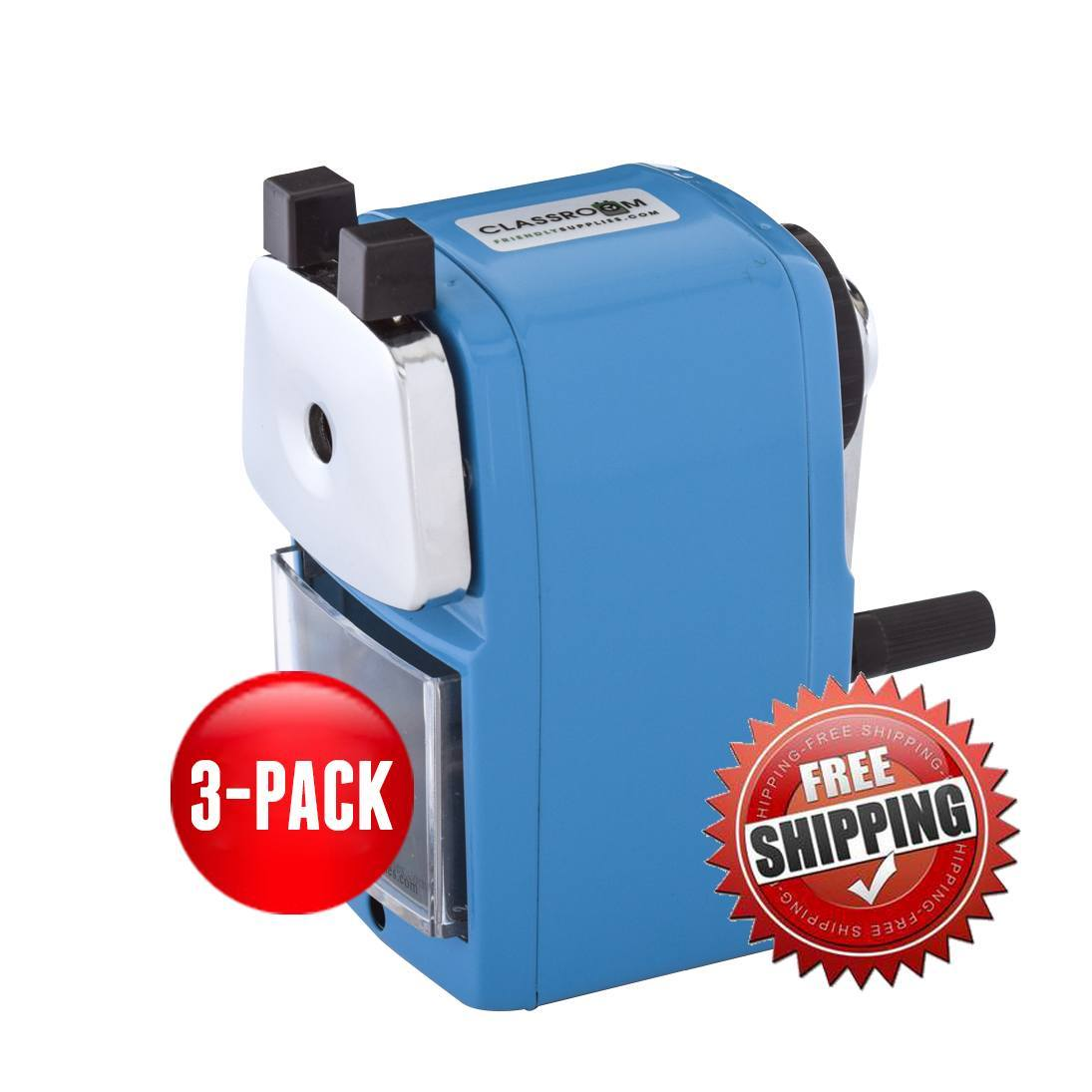 Teacher Special 3 Blue (Buy 3 for only $17.99 each) - Classroom Friendly Supplies  - 1