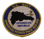 US Navy Operation Power Pack Dominican Republic Patch