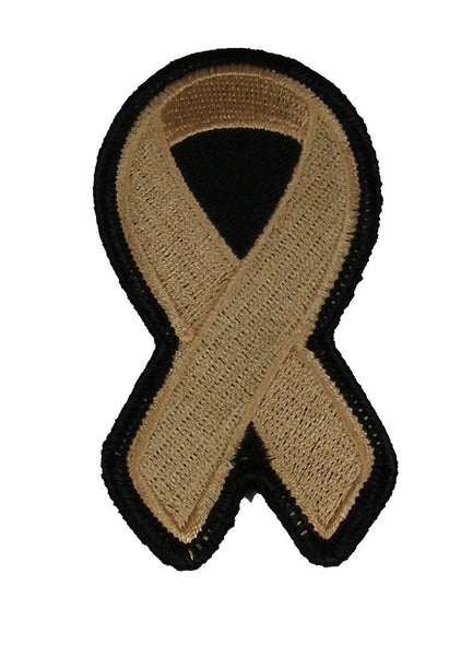 PEACH RIBBON FOR ENDOMETERIAL AND UTERINE CANCER AWARENESS PATCH