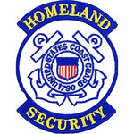 U S C G HOMELAND SECURITY SEMPER PARATUS 1790 Round Patch - Color - Veteran Owned Business.