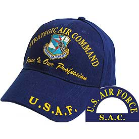 STRATEGIC AIR COMMAND SAC HAT