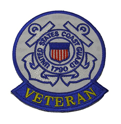 UNITED STATES COAST GUARD 1790 VETERAN Patch With Tab - Color - Veteran Owned Business.