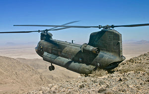 CH-47D Chinook 1/72 3rd Battalion, 25th AR, 25th CAV, 25th Infantry Div., Afghanistan 2013