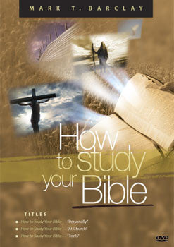 How to Study Your Bible DVD