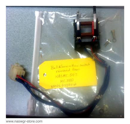 12288C74G03 ~ 1288C76G09 Bell Alarm + Aux Switch Removed from MC3800