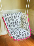 Arrow Print Hammock Chair Swing