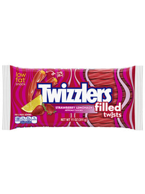 Twizzlers Strawberry Lemonade Filled Twists (312g)