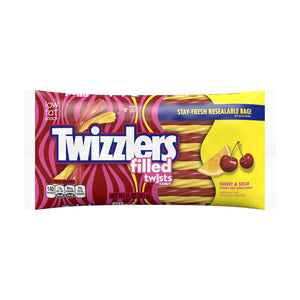 Twizzlers Sweet & Sour Cherry Kick Citrus Punch Candy (312g)