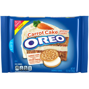 Oreo Carrot Cake Flavored Cookies (345g)