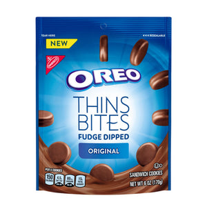 Oreo Thins Bites Fudge Dipped Original (170g)