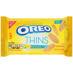 Oreo Thins Lemon Creme (286g)