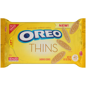 Oreo Thins Golden Sandwich Cookies (286g)