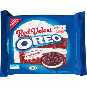 Oreo Red Velvet Sandwich Cookies (305g)
