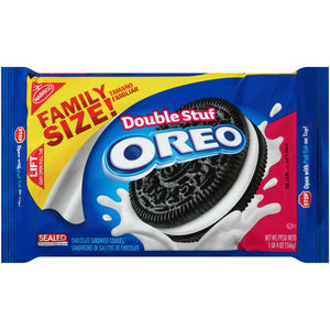 Oreo Double Stuf Chocolate Sandwich Cookies (567g)