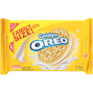 Oreo Golden Sandwich Cookies (541g)