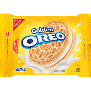 Oreo Golden Sandwich Cookies (405g)