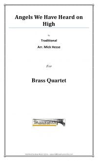 Traditional - Angels We Have Heard on High - Brass Quartet
