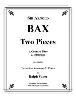 Bax - Two Pieces for Tuba or Bass Trombone and Piano