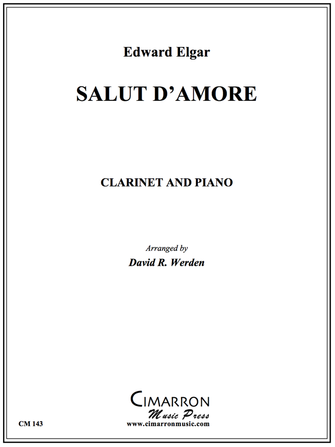 Elgar, E - Salut d'Amour - Clarinet/Bassoon and Piano
