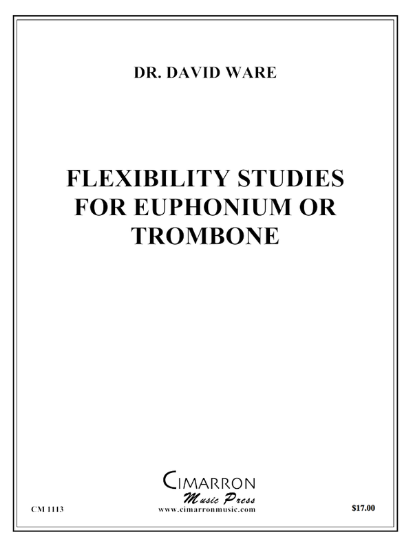 Ware - Flexibility Studies for Euphonium or Trombone