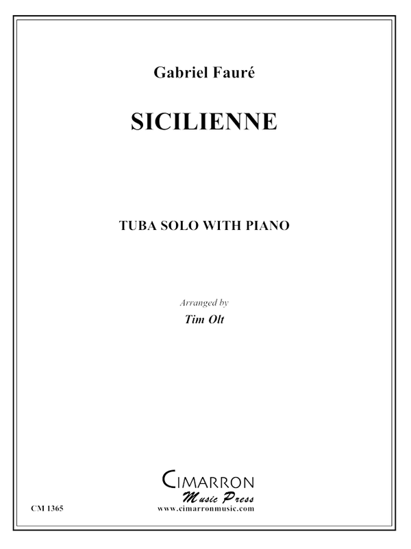 Fauré, G - Sicilienne - Tuba and Piano