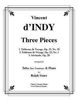 d'Indy - Three Pieces for Tuba or Bass Trombone and Piano