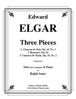 Elgar - Three Pieces Complete - Tuba and Piano