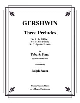 Gershwin - Three Peludes for Tuba and Piano