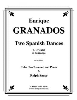 Granados – Two Spanish Dances for Tuba and Piano