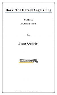 Traditional - Hark! The Herald Angels Sing - Brass Quartet