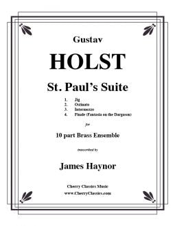Holst – St. Paul's Suite for Brass Choir